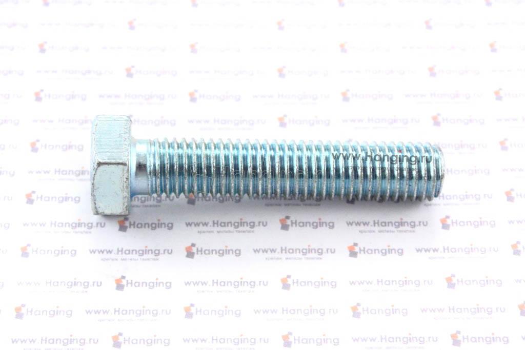 Болт оцинкованный с полной резьбой 4.8 М12х60