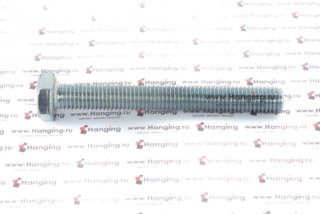 Болт оцинкованный с полной резьбой 4.8 М12х100