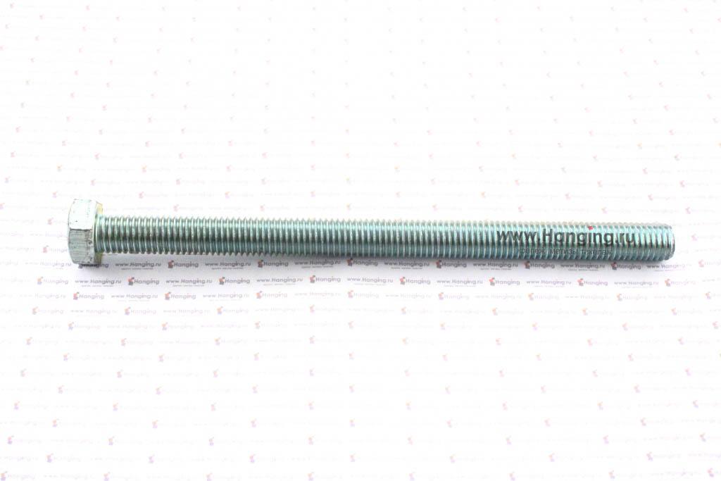 Болт оцинкованный с полной резьбой М14х200 DIN 933 кл. пр. 4.8