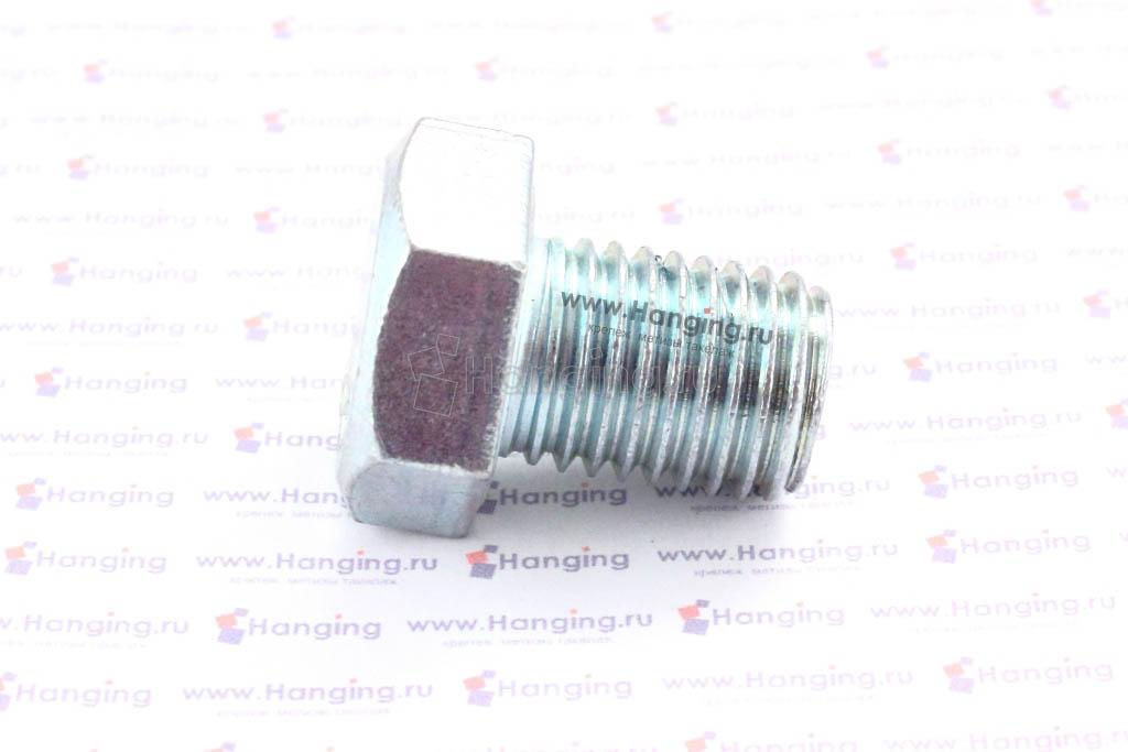 Болт оцинкованный с полной резьбой М16х20 DIN 933 кл. пр. 4.8