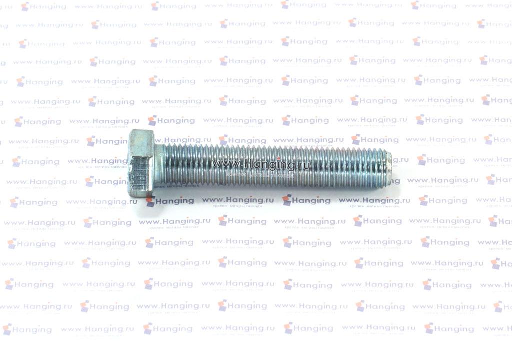 Болт оцинкованный с полной резьбой М16х90 DIN 933 кл. пр. 4.8