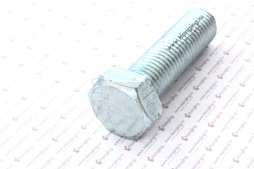 Болт М20х70 цинк ГОСТ Р ИСО 4017-2013