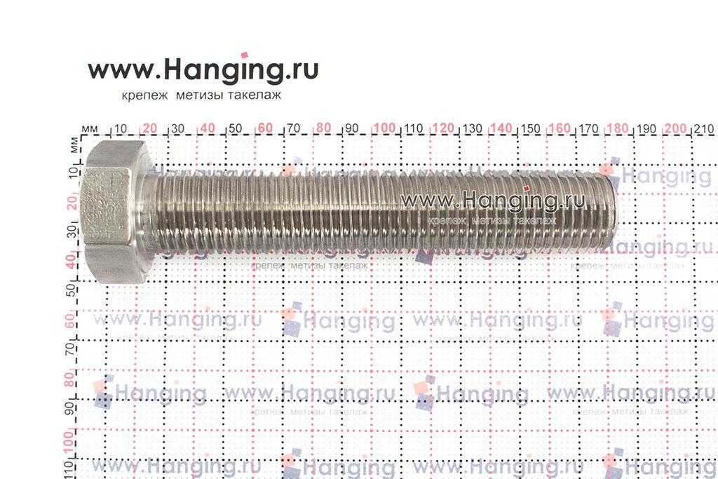 Размеры болта М27х150 DIN 933