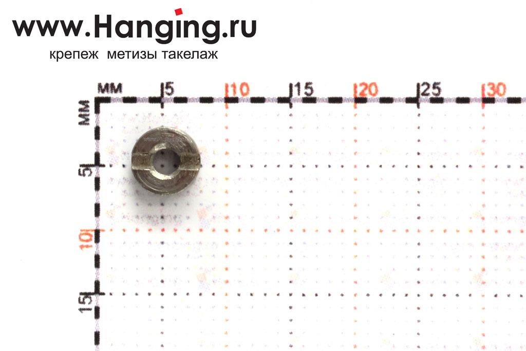 Диаметр оцинкованной гайки DIN 546 ГОСТ 10657-80 М2,5