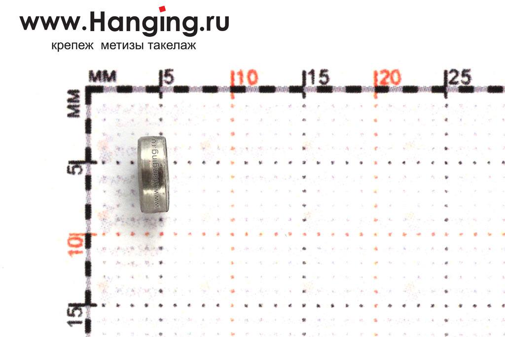 Высота гайки ГОСТ 10657-80 DIN 546 М2,5 с шлицем