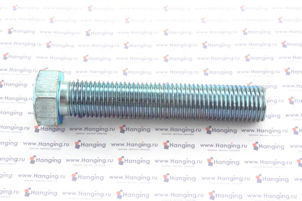 Болт оцинкованный с полной резьбой М22х120 DIN 933 кл. пр. 4.8