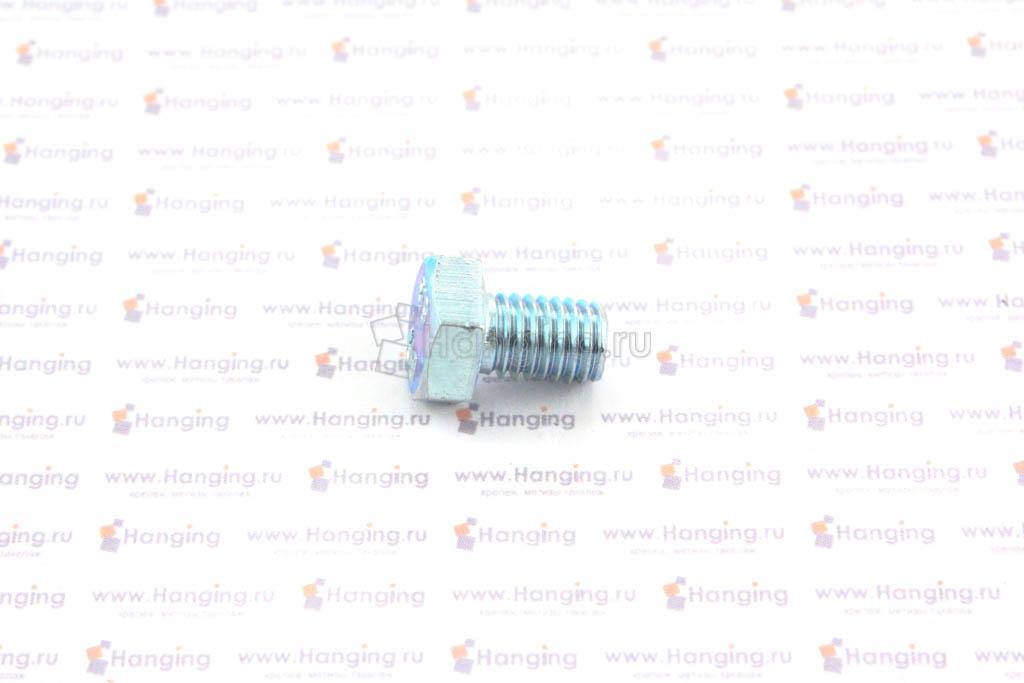 Болт оцинкованный с полной резьбой М8х12 DIN 933 кл. пр. 4.8