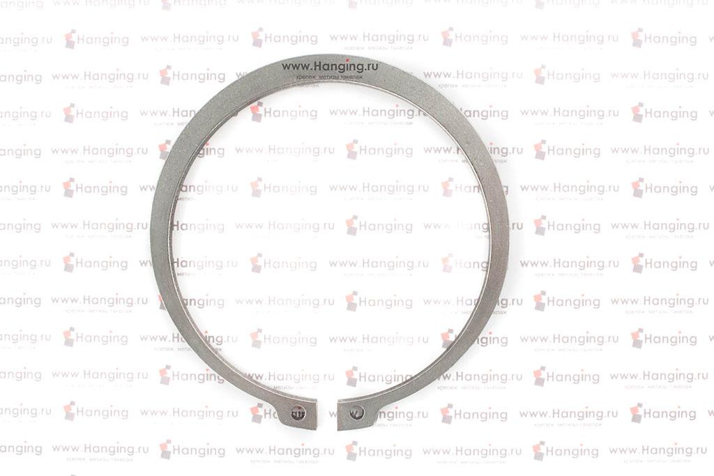 Кольцо 90х3 стопорное наружное из нержавеющей стали А2 DIN 471