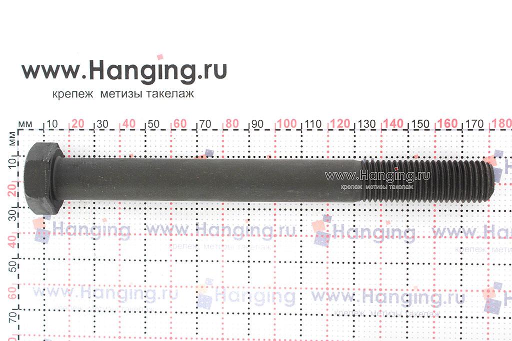 Размеры болта М16*160 класса прочности 10.9 с неполной резьбой