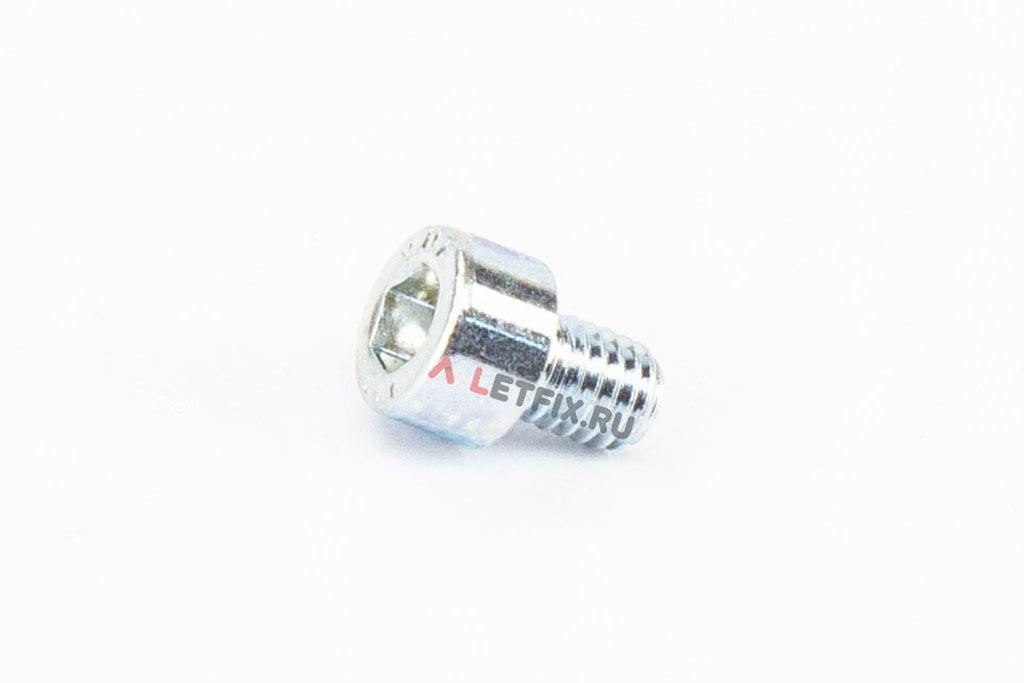 Болты М6х8 оцинкованные с шестигранником класса прочности 8.8 DIN 912