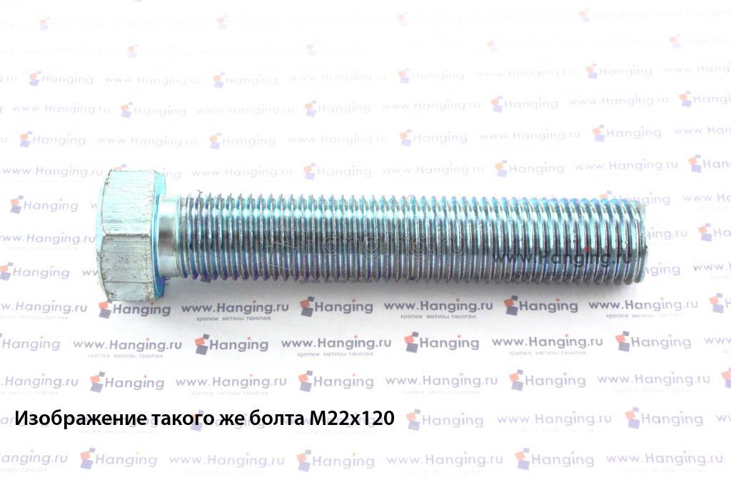 Болт DIN 933 М22х110 5.8