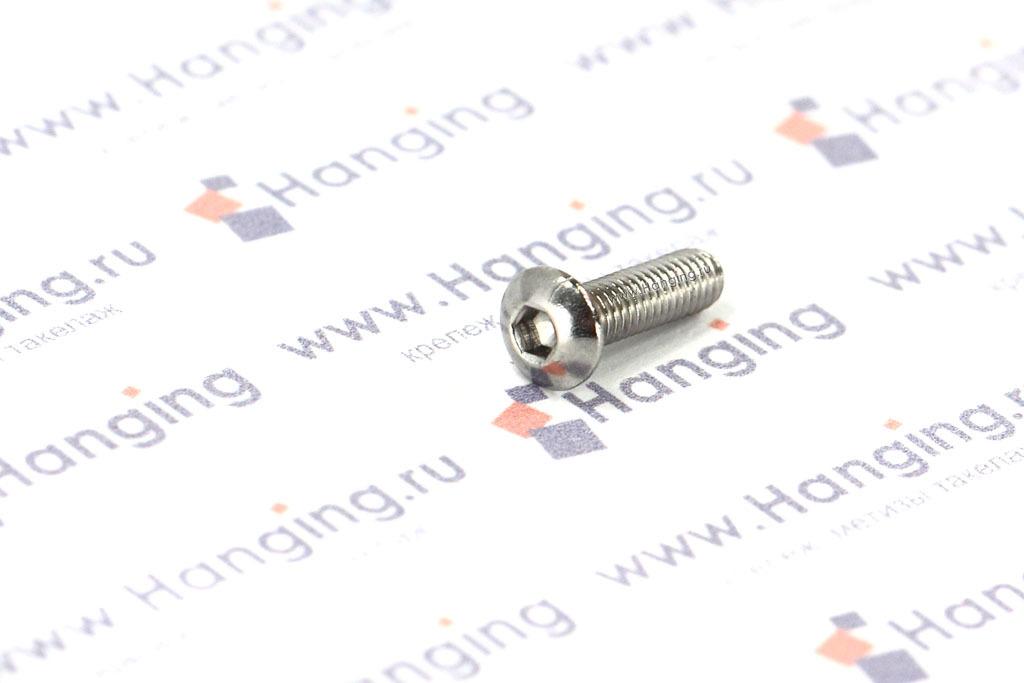 Винты М3х10 из нержавеющей стали А4 DIN 7380