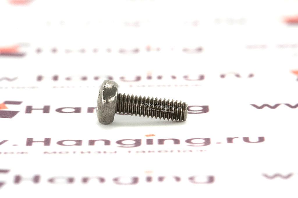 Винт М2,5х8 с полукруглой головкой из нержавеющей стали А4 DIN 7985
