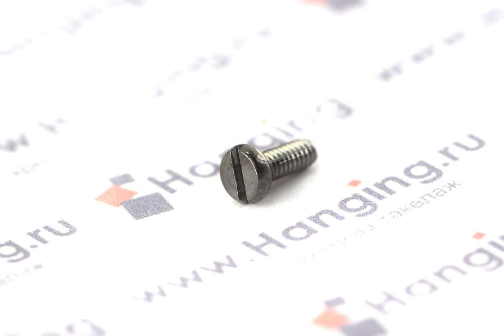 Винт М2х5 c круглой плоской головкой из нержавейки А4 DIN 84