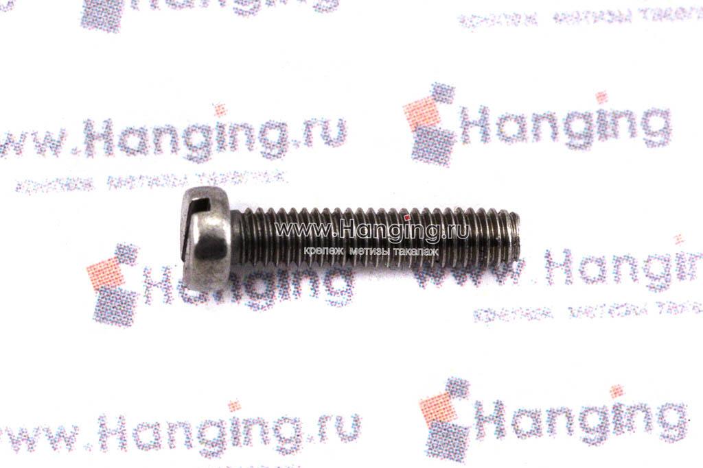 Винты М2,5х12 c круглой плоской головкой из нержавейки А4 DIN 84