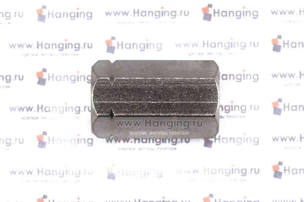 Гайки М8 шестигранные соединительные из нержавеющей стали А4 DIN 6334