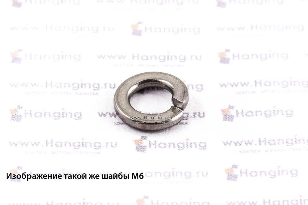 Шайба М3,5 пружинная (гровер) из нержавеющей стали А4 DIN 127