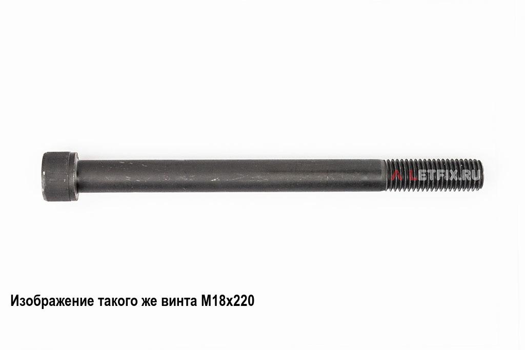 Винт М18х300 с внутренним шестигранником, без покрытия, кл. пр. 12.9, DIN 912