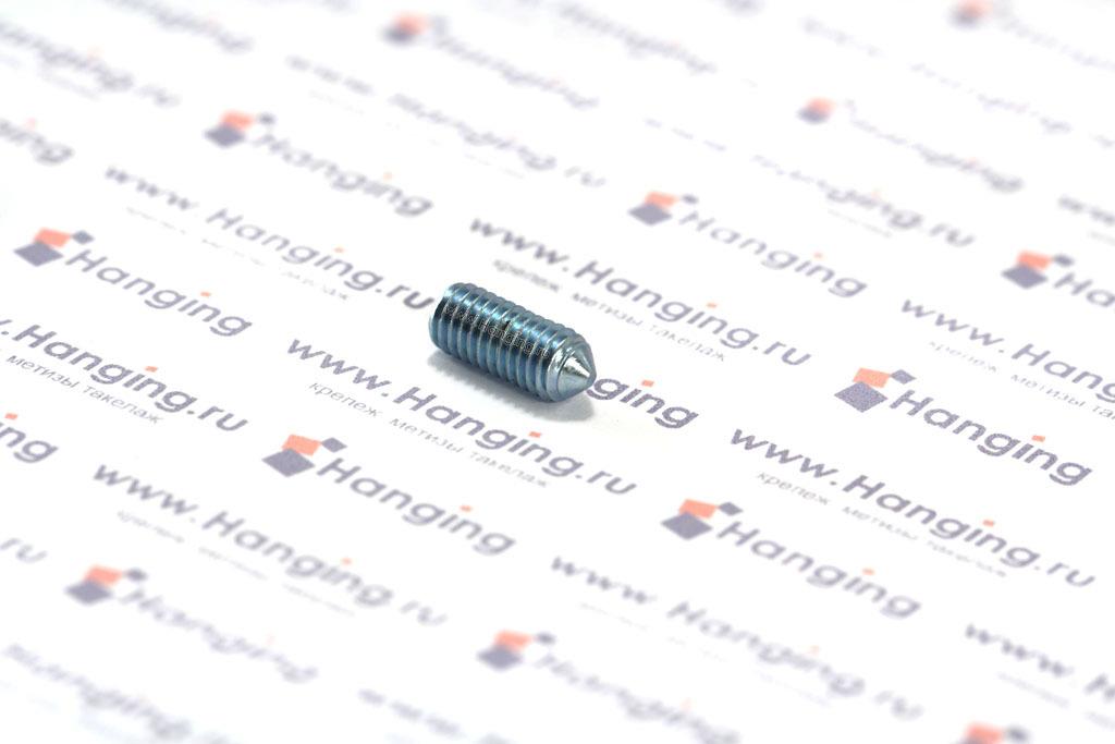 Винт оцинкованный DIN 914 ГОСТ 8878-93 с внутренним шестигранником и конусом