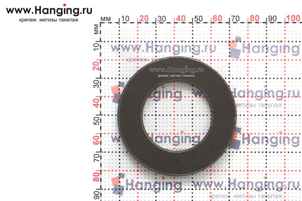 Размеры шайбы без покрытия ГОСТ 11371-78 М30