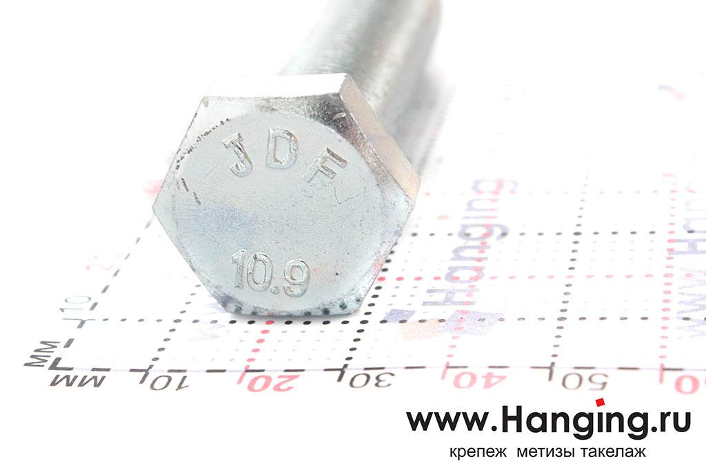Головка болта М16 длиной 70 мм с мелкой резьбой с шагом 1,5