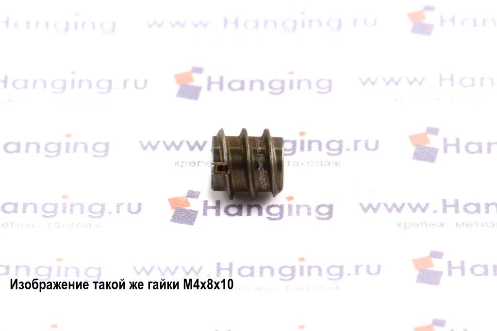 Муфта мебельная М6х12х15 DIN 7965