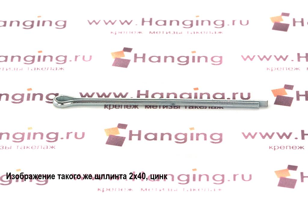 Шплинт оцинкованный 1х25 DIN 94 (ГОСТ 397-79)
