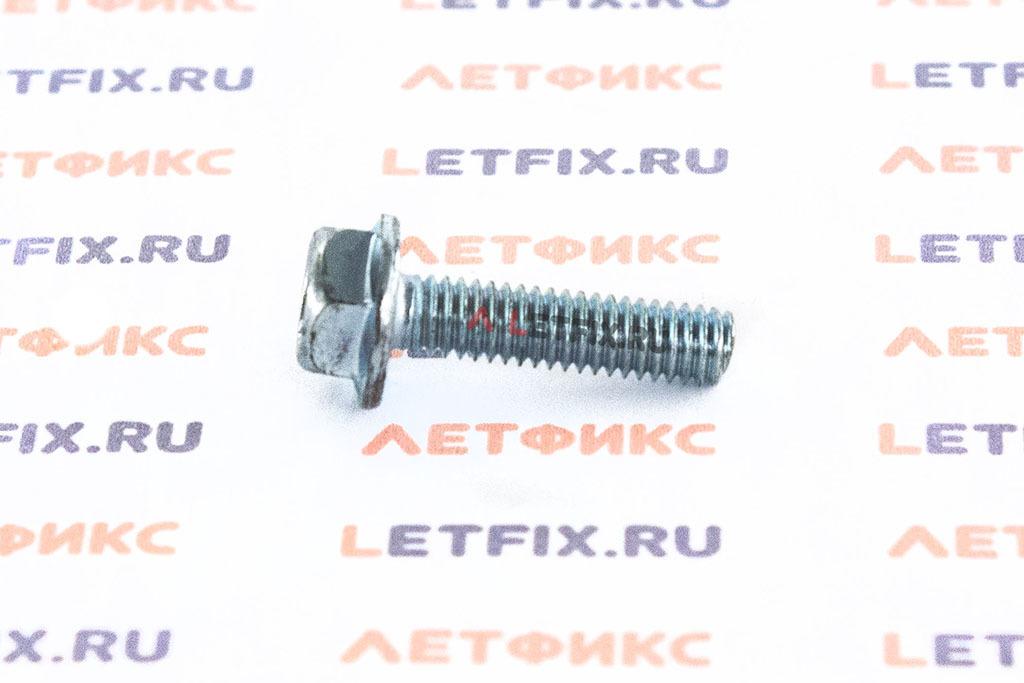 Оцинкованный болт с прессшайбой (с фланцем) М4х16 DIN 6921