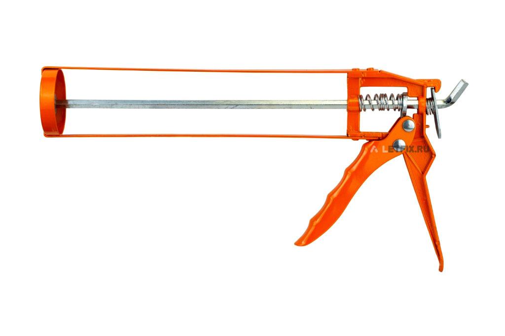 Пистолет скелетный для герметиков, силиконов и клеёв