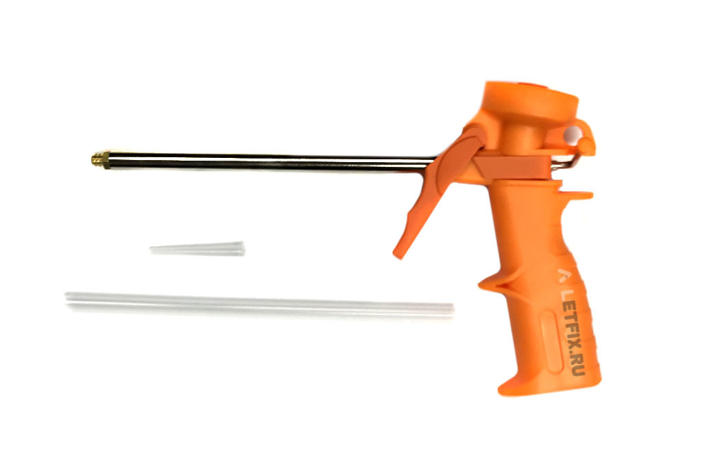 Недорогой пистолет для пены и клея Эконом