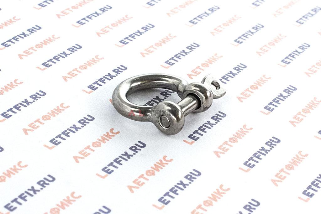 Скобы такелажные омегообразные 4 мм из нержавеющей стали А4