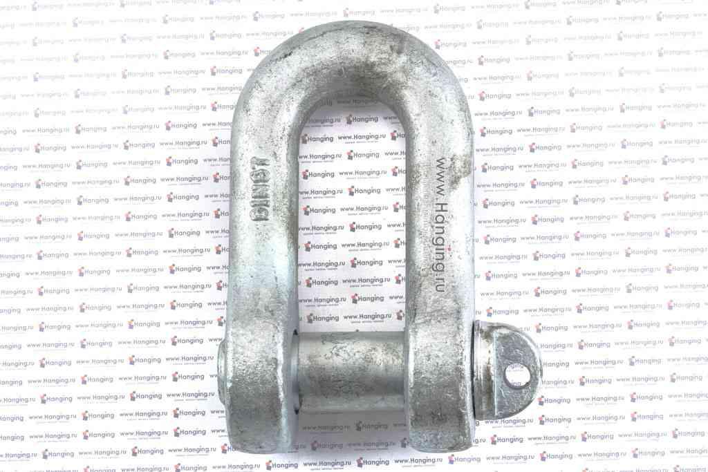 Скоба такелажная 45 мм прямого типа