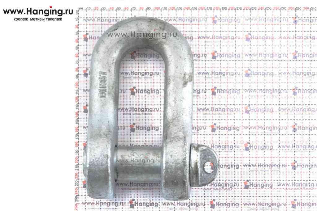 Размеры такелажной скобы 45 мм