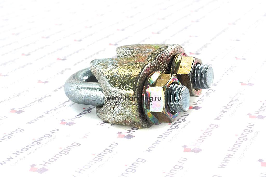 Оцинкованный зажим для стального троса 13 мм
