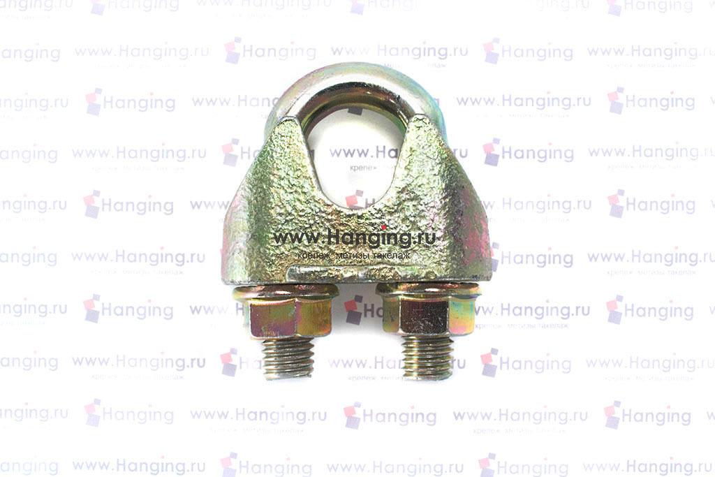 Зажим DIN 1142 для стального каната и троса 19 мм