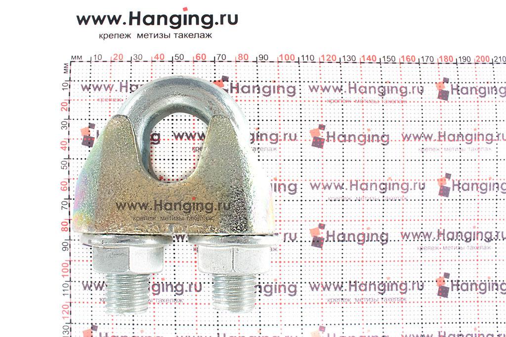 Размеры зажима 26 мм DIN 1142 для стальных канатов и тросов
