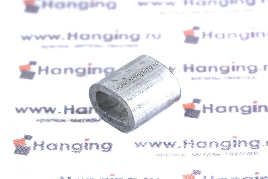 Зажим алюминиевый для троса 3 мм