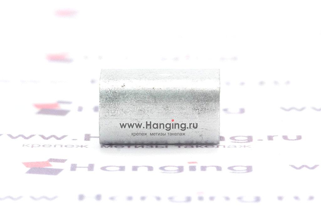 Зажим алюминиевый для троса 4 мм