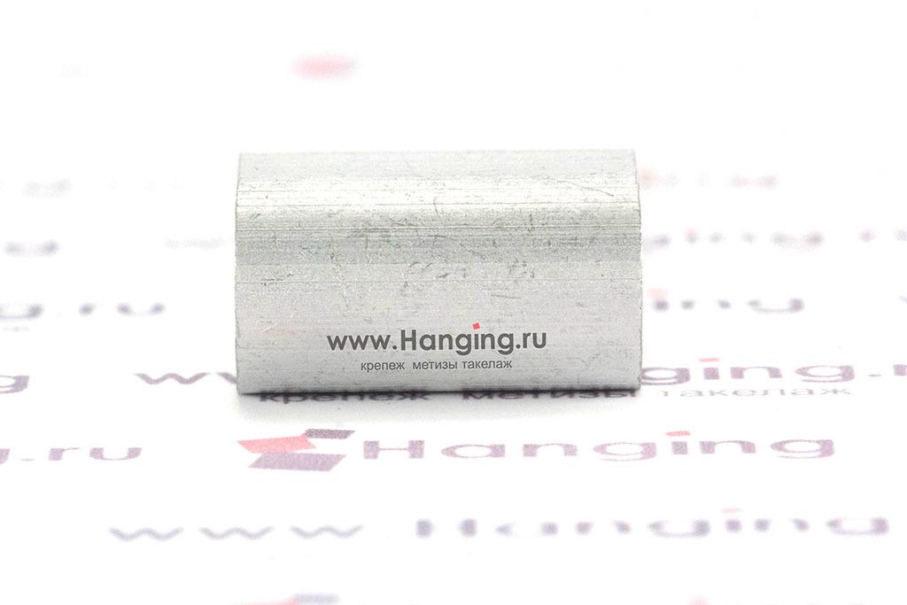 Зажим алюминиевый для троса 5 мм