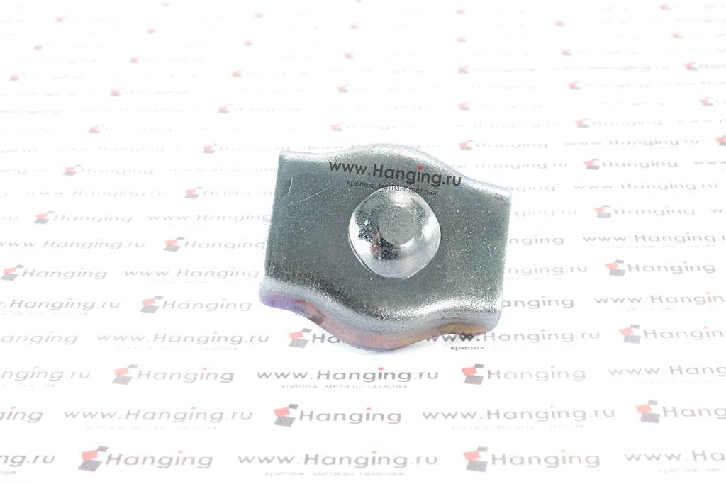 Зажим одинарный Simplex для троса 8 мм