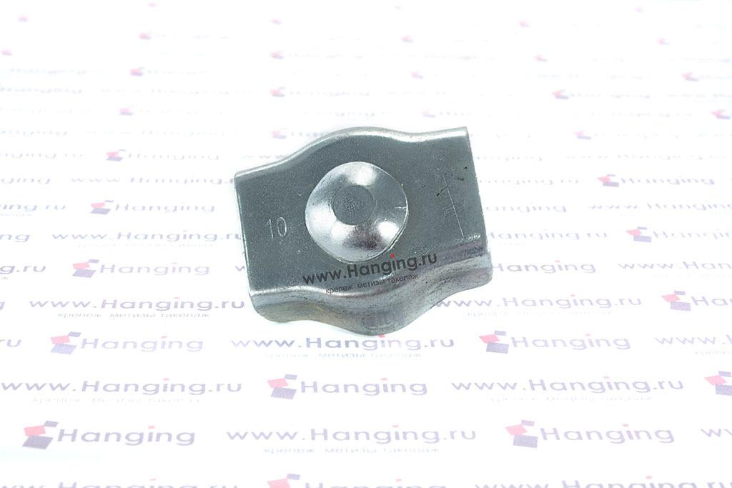 Зажим одинарный Simplex для троса 10 мм