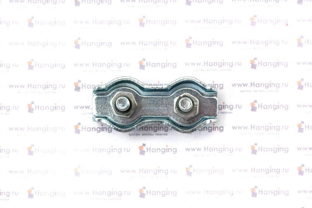 Зажим дуплекс для троса и каната 3 мм