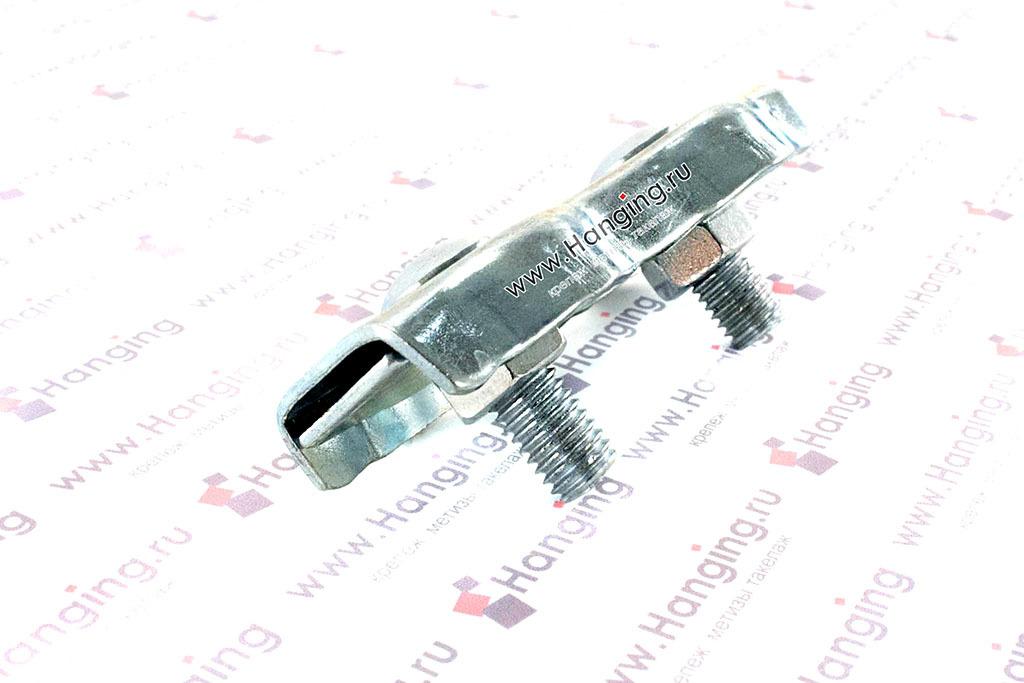 Зажим дуплекс для троса и каната 8 мм