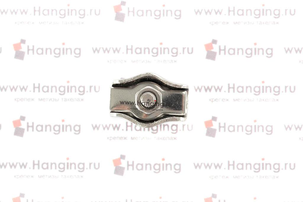 Зажим для троса Simplex 3 мм из нержавеющей стали А4