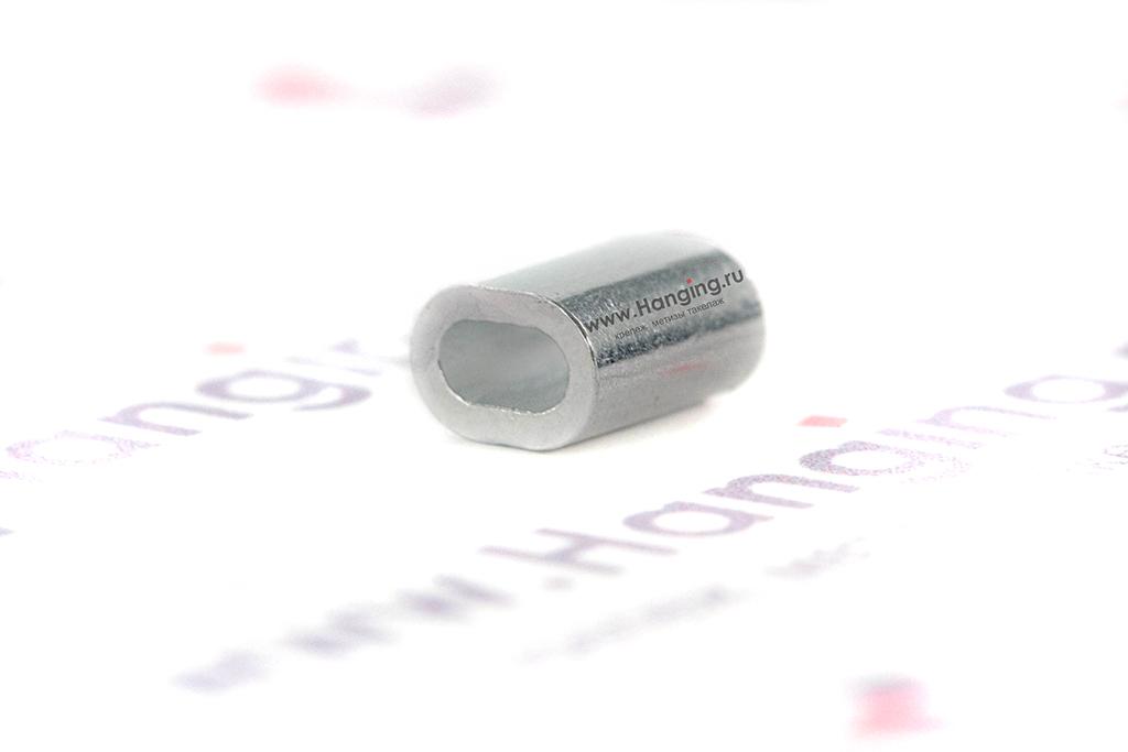 Зажим из алюминия для каната 1,5 мм
