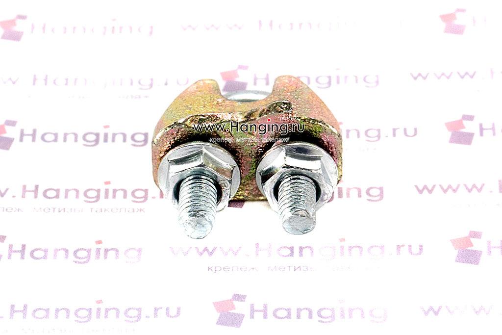 Зажим для стального каната и троса 6,5 мм