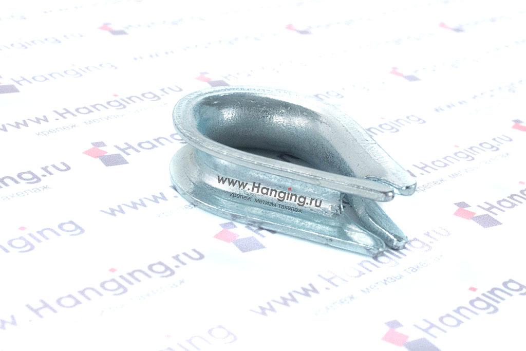 Коуш для стального каната 7 мм