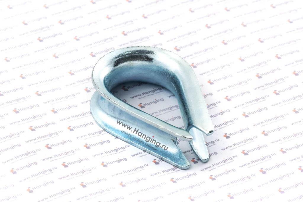 Коуш стальной 11 мм