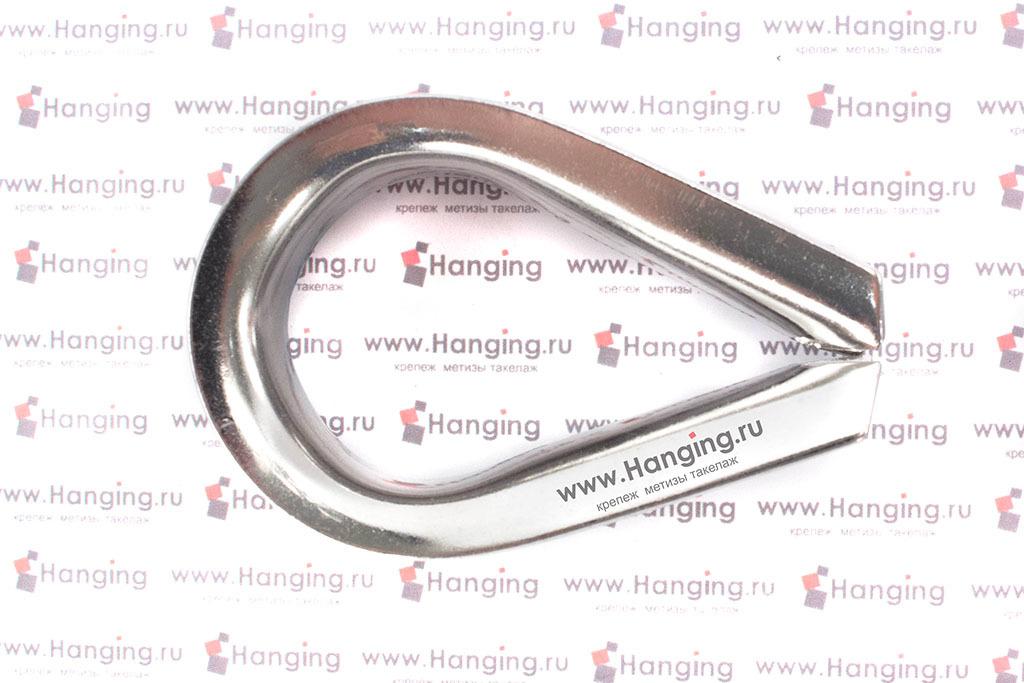 Коуши 16 мм из нержавеющей стали А4 DIN 6899