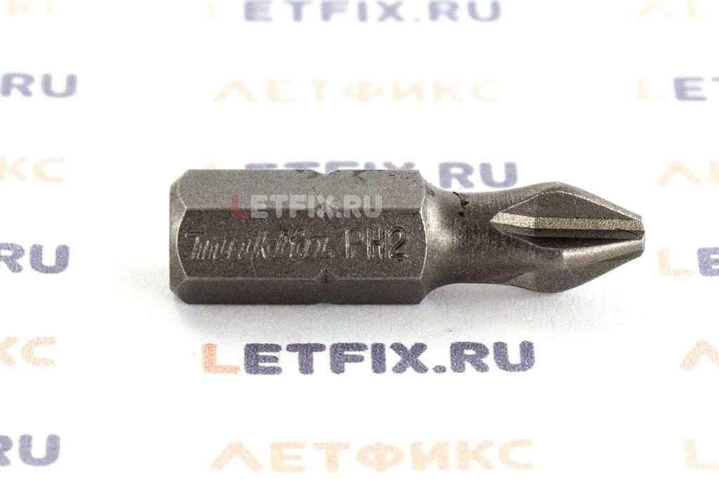 Бита для шуруповерта PH2 длиной 25 мм для шлица Phillips (PH)